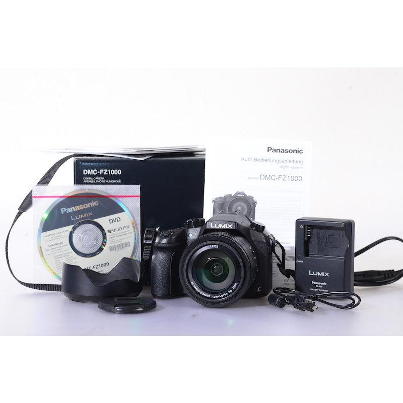 Panasonic Lumix DMC-FZ1000 (Raucherhaushalt)