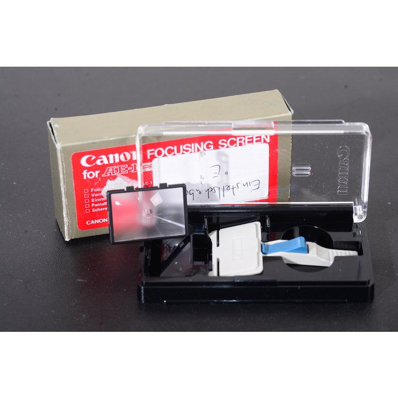Canon Einstellscheibe E AE-1 Prog.