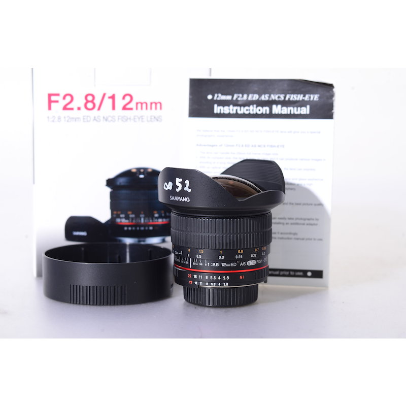 Samyang NCS 2,8/12 ED AS Fisheye NI