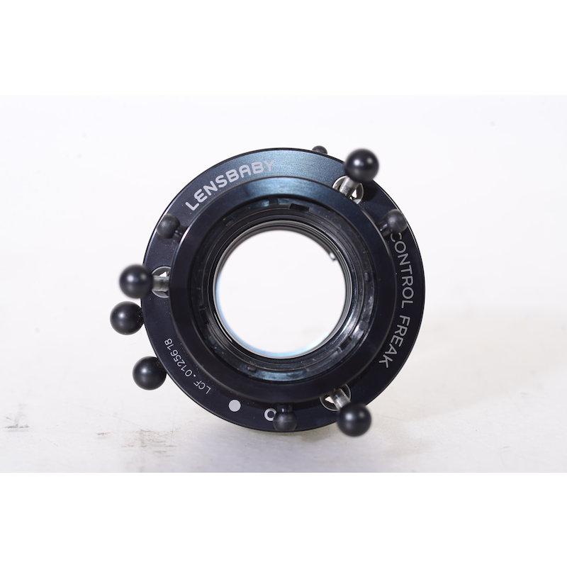 Lensbaby LPC Control Freak Nikon ohne Optik Einsatz