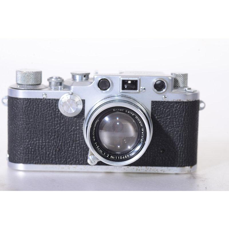 Leitz Leica IIIc+Summicron 2,0/5cm