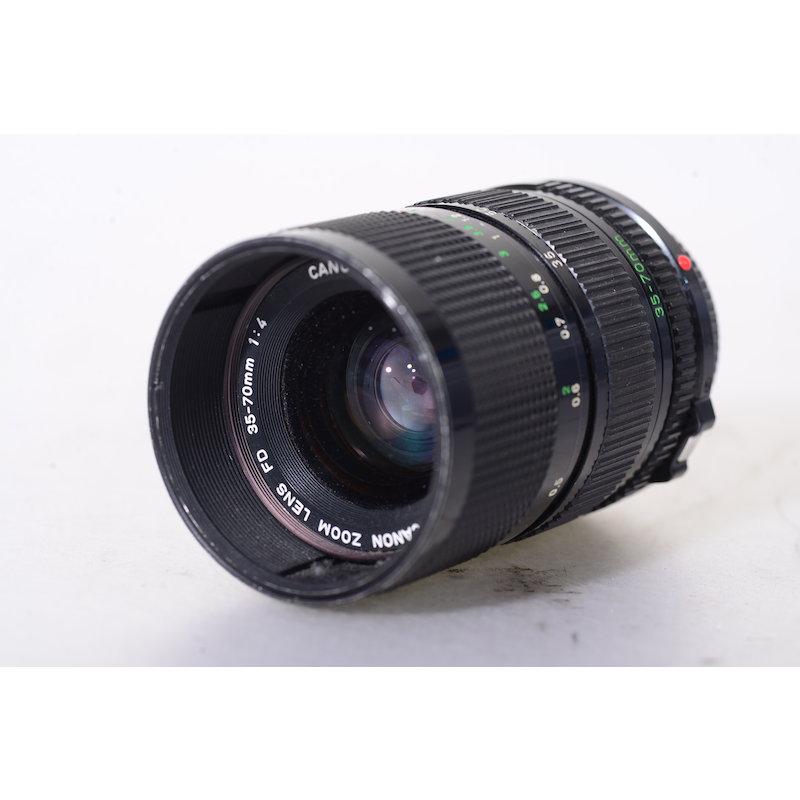 Canon FD 4,0/35-70 (Staubeinschlüsse)