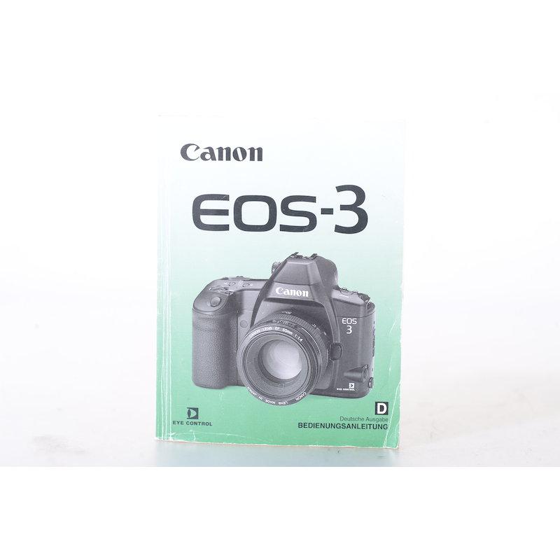 Canon Anleitung EOS-3