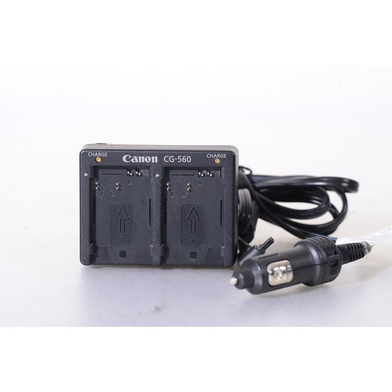 Canon Batterieladegerät CG-560+AutoladeKabel