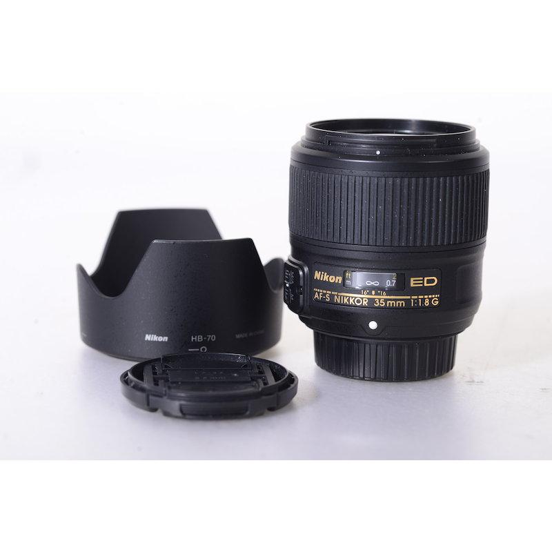 Nikon AF-S 1,8/35 G ED #JAA137DA