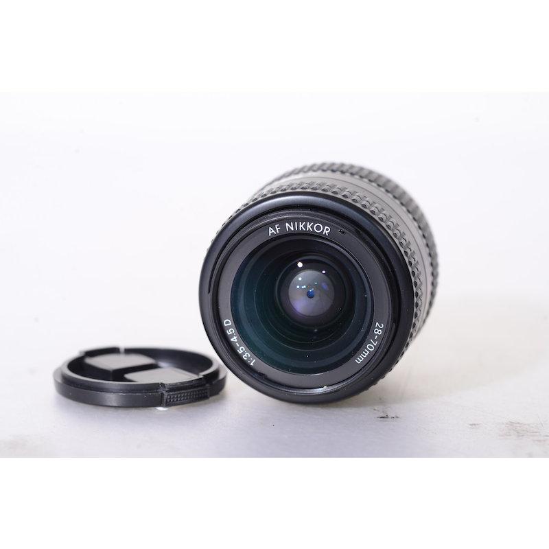 Nikon AF 3,5-4,5/28-70 D (Staub in den Linsen)