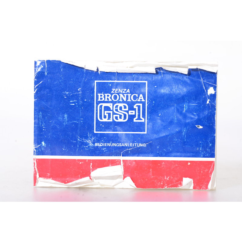 Bronica Anleitung GS-1