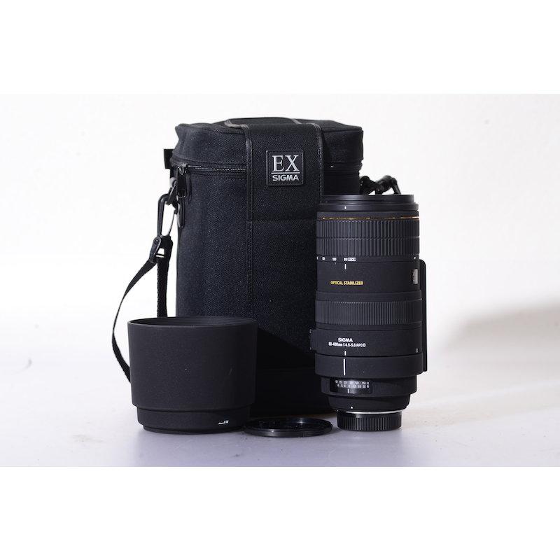 Sigma EX 4,5-5,6/80-400 APO OS NI/AF