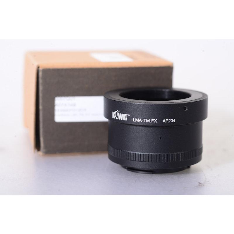 Kiwi T2 Adapter Fujifilm X FUX/T2 #LMA_TM_FX