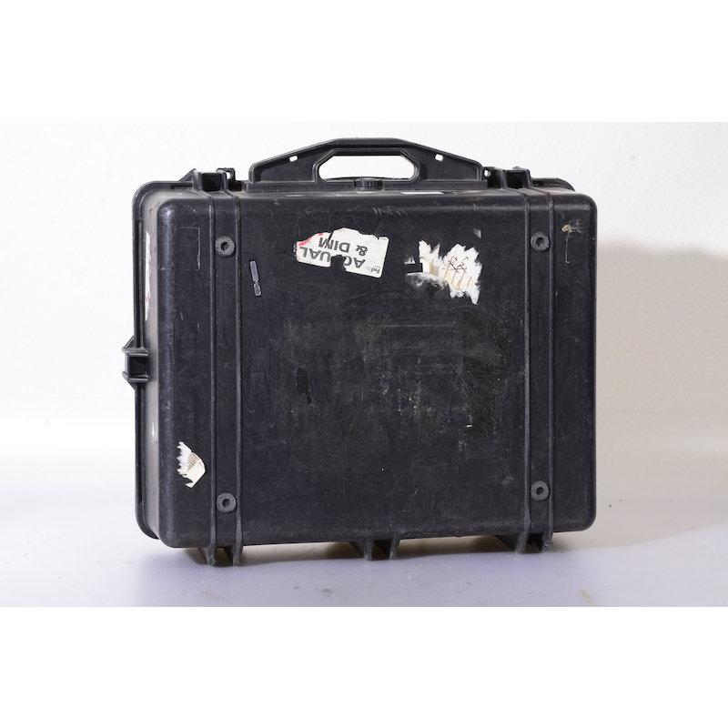 Pelican Protector Schwarz 1600 L/B/H 59/50/22,5 (Schaumstoffeinteilung mit Zuschnitt)