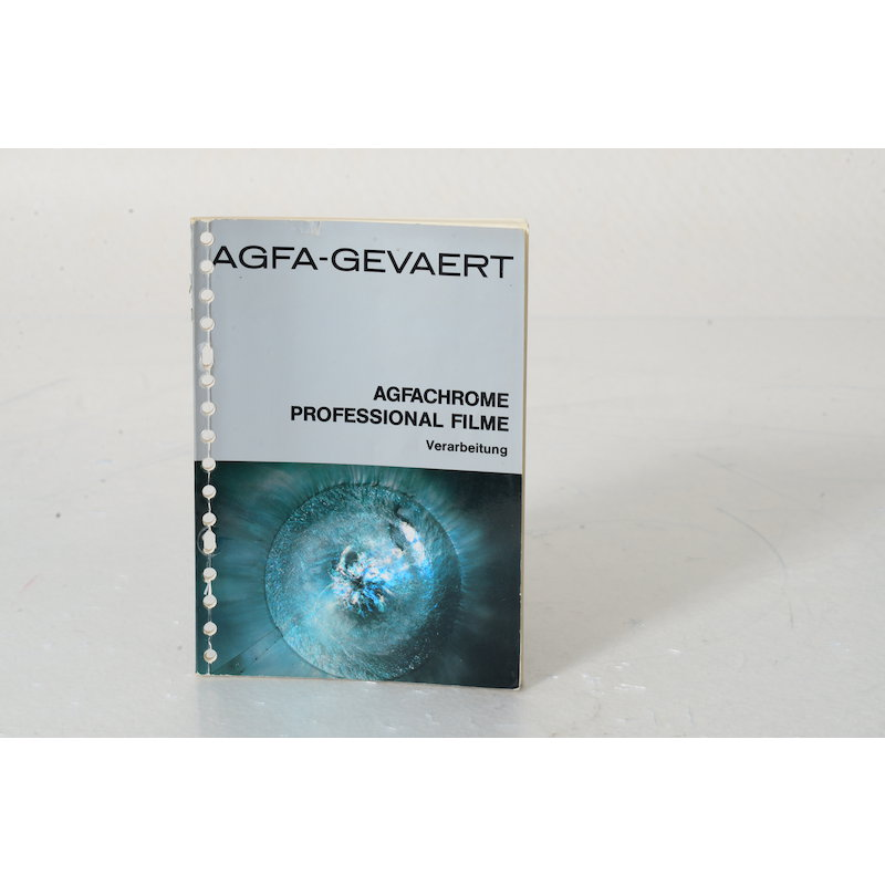 Agfa Agfachrome Professional Filme. Verarbeitung