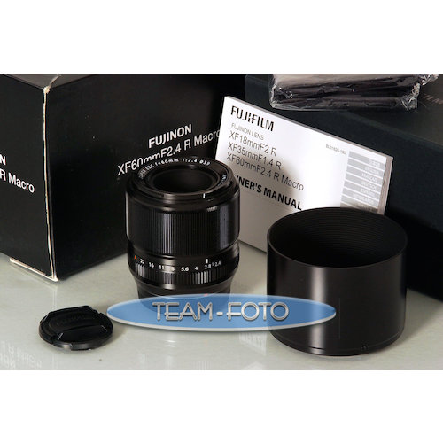 fujifilm 60mm f 2 4 xf macro lens g nstig kaufen ebay. Black Bedroom Furniture Sets. Home Design Ideas