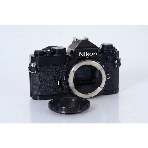 nikon fe 35mm spiegelreflexkamera in black eur 169 00. Black Bedroom Furniture Sets. Home Design Ideas